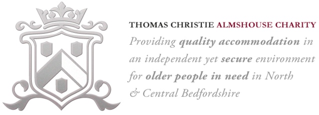 Thomas Christie Almshouse Charity Providing quality accommodation in an independent yet secure environment, leading to fuller, happier lives for older people in need in North & Central Bedfordshire